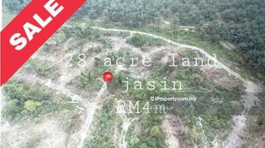 tanah untuk pembangunan jual murah, Jasin 1