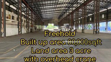 Senai Freehold Factory With Overhead Crane, Senai Kulai Johor, Senai 1