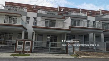 2.5 sty super link home nearby PLUS SEREMBAN, Bukit Kepayang 1