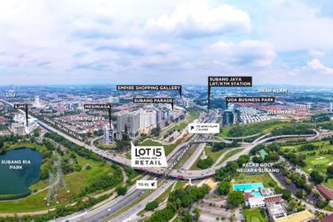Subang Jaya City Centre (SJCC) : Lot 15 Retail 1