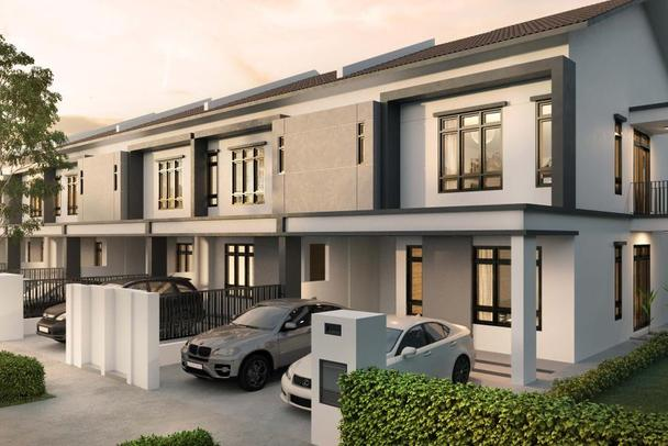 Meridin East Acacia 2 Storey Link Homes