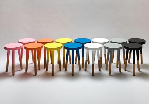 เก้าอี้ สตูล เก้าอี้สตูล Milking Stool, custom designed furniture