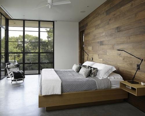 ห้องนอนใหญ่สไตล์ Loft