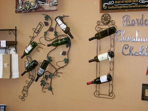 ขวดไวน์แต่งบ้าน Wine Bottle Home Decor (2)