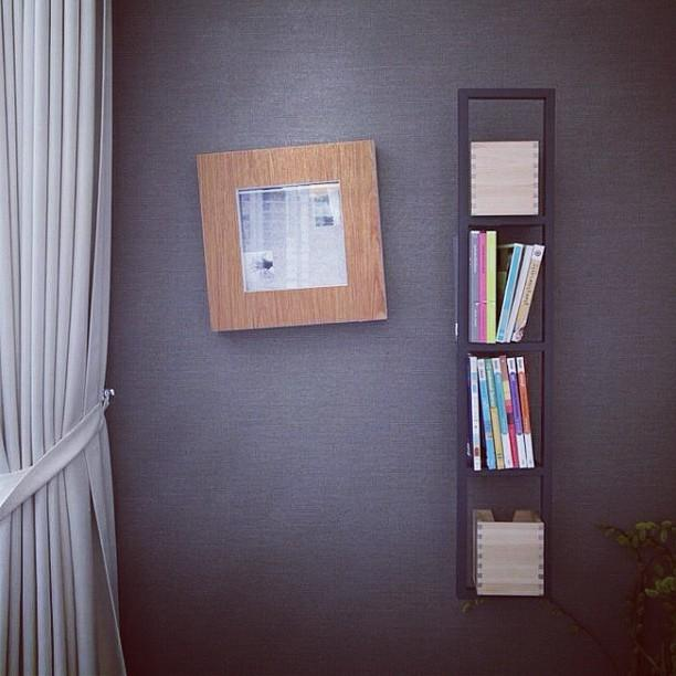 What's on the wall? #bedroom #thinkofliving #photoframe #wall #decor
