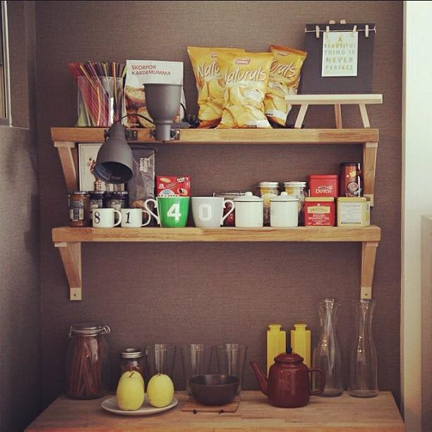 Tidy kitchen can look nice ;) #thinkofliving #kitchen #spice #sauce