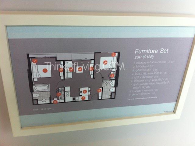 Furniture Plan 2 Bed Room