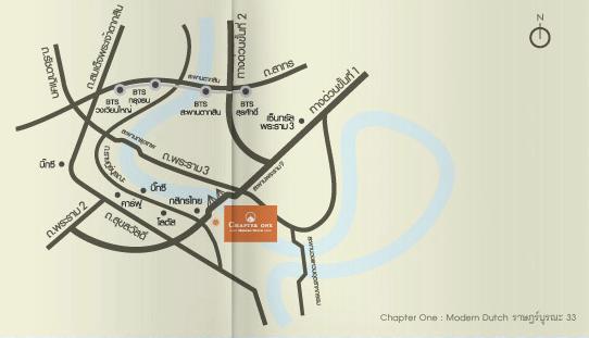 แชปเตอร์วัน แผนที่ ราษฎร์บูรณะ โครงการ