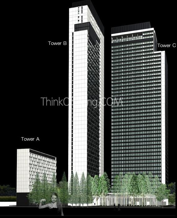 โนเบิล เพลินจิต ตึก A B C ทั้ง 3 ตึก