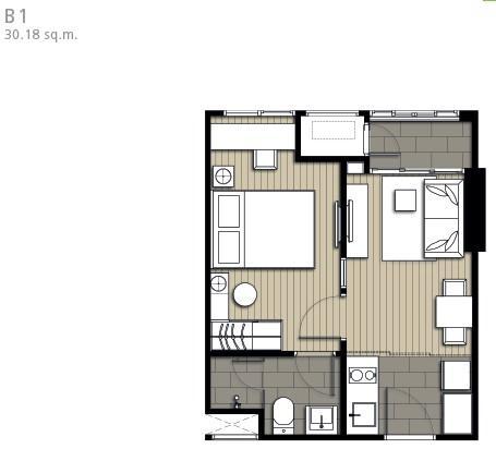 IDEO Mobi ผังห้อง (2)