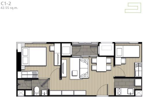IDEO Mobi ผังห้อง (3)