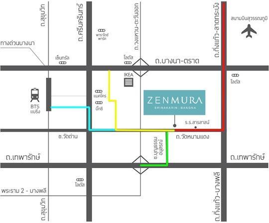 Zenmura Map