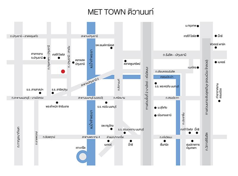 map Met Town
