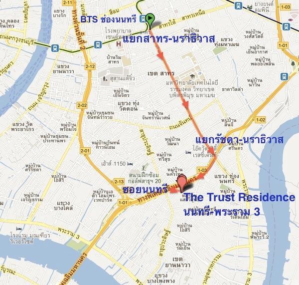 Map The Trust พระราม3