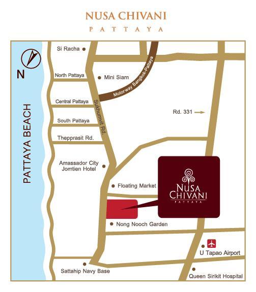 MAP NUSA CHIVANI PATTAYA