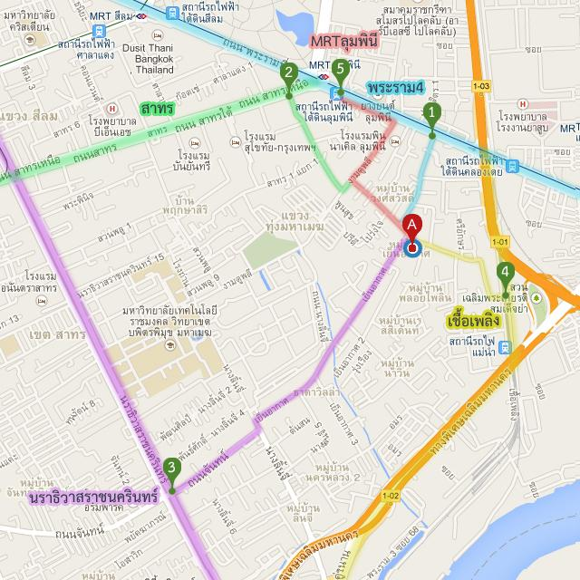Route detail