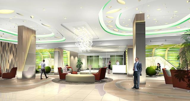 Lobby Center (Green)