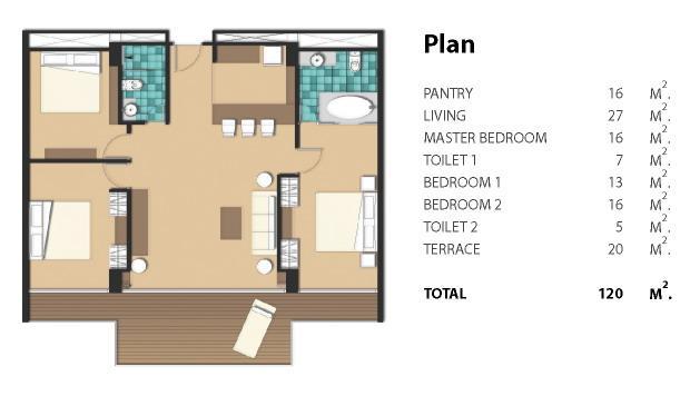 Plan room type B