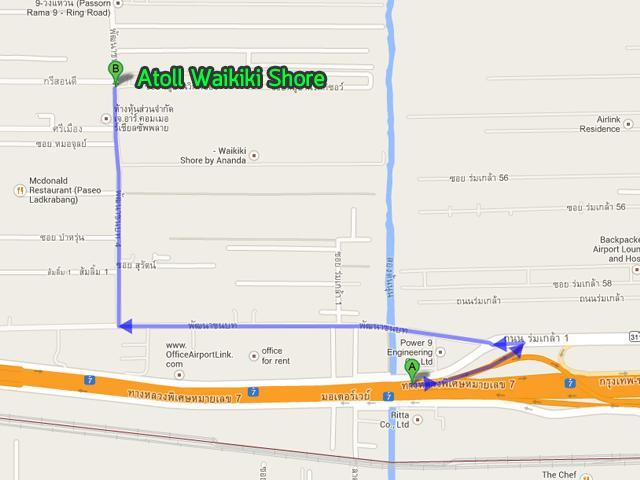 AtollWaikikiShore_Map_RouteMotorway01