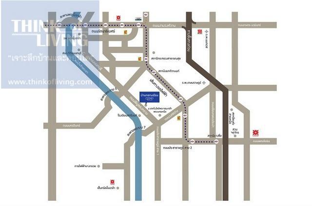 บ้านกลางเมือง-พิบูลสงคราม-Map