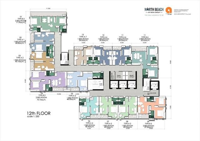 North beach_Floor Plan- 12th Floor