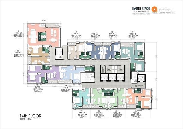North Beach_Floor Plan- 14th Floor