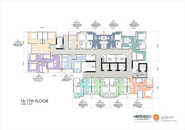 North beach_Floor Plan-16th-17th Floor