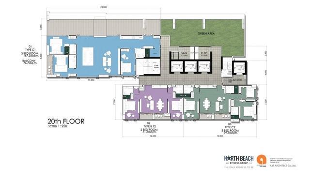 North Beach_Floor Plan-20th Floor