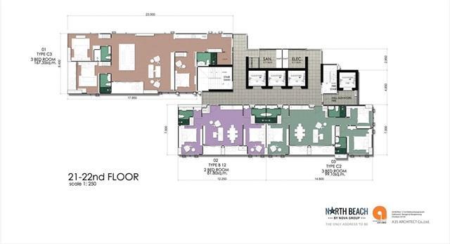 North Beach_Floor Plan-21st-22nd Floor