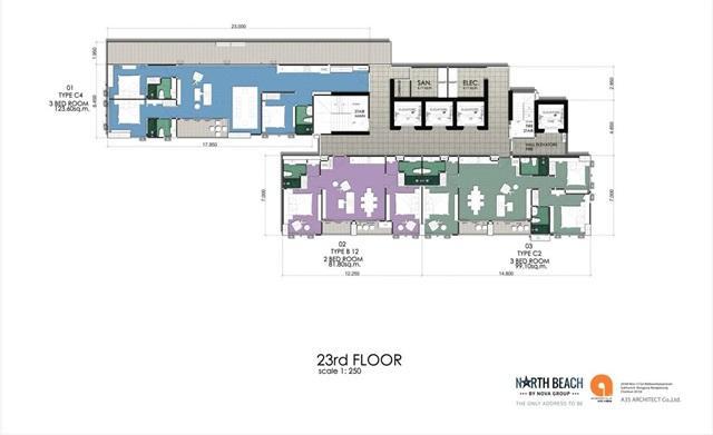 Floor Plan- 23rd Floor