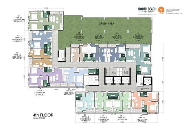 North Beach_Floor Plan- 4th Floor