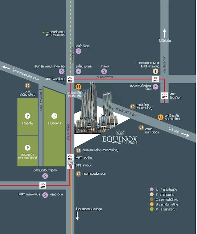 equinox map