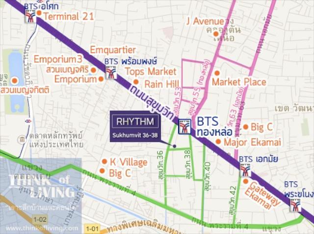 rhythm 3638 map 1