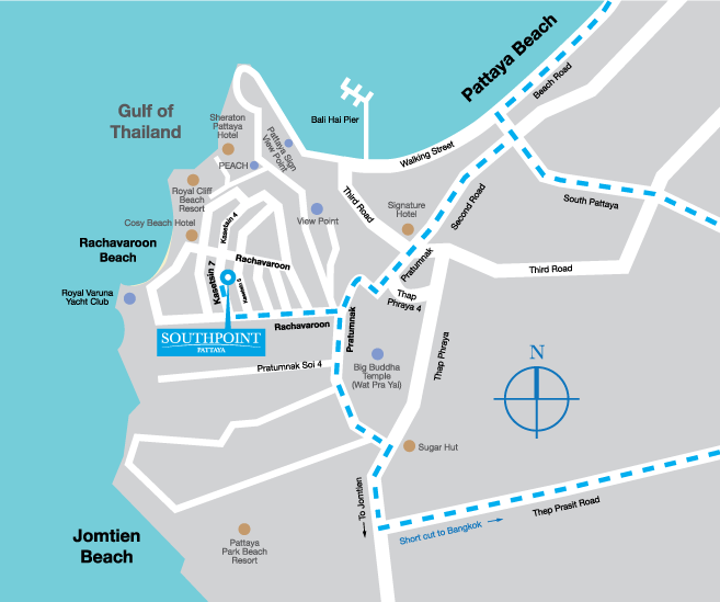 southpoint maps