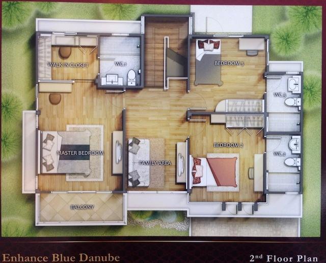 Blue Danube 2F