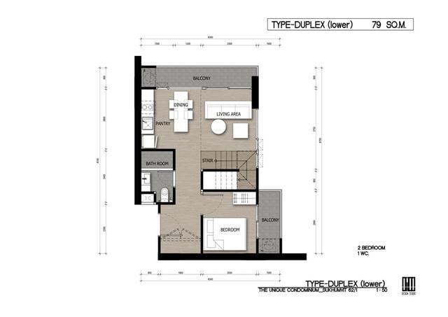 DD1_THEUNIQUE 62_2014-01-22_ROOM TYPE DUPLEX LOWER