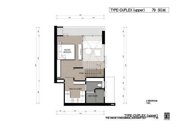 DD1_THEUNIQUE 62_2014-01-22_ROOM TYPE DUPLEX UPPER