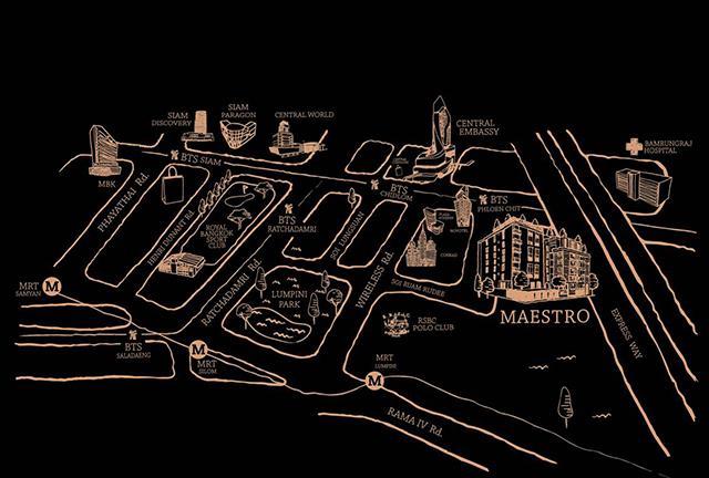 maestroclassic map