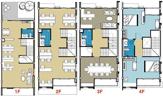 plan shophouse