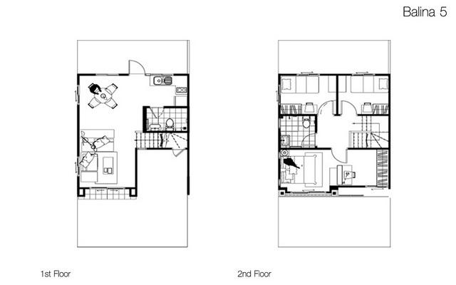 Floor Plan Balina 5 พฤกษาวลล พฒนาการ