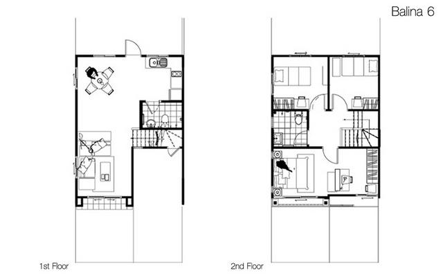 Floor Plan Balina 6 พฤกษาวลล พฒนาการ
