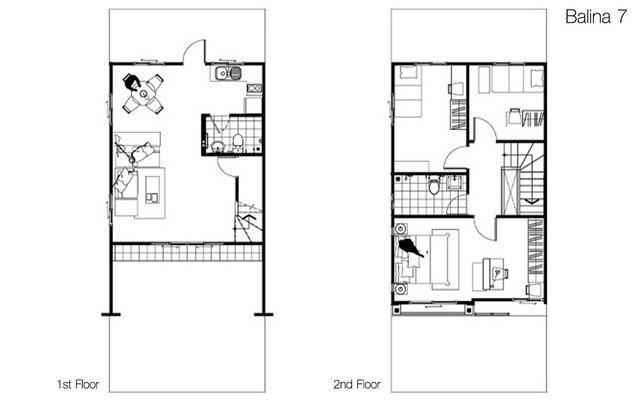 Floor Plan Balina 7 พฤกษาวลล พฒนาการ