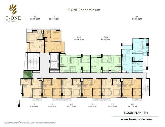 Floor plan 3 rd