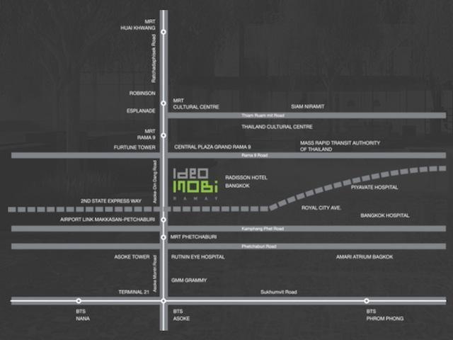 Ideo Mobi Rama9 Map