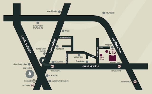L15 Condo  map