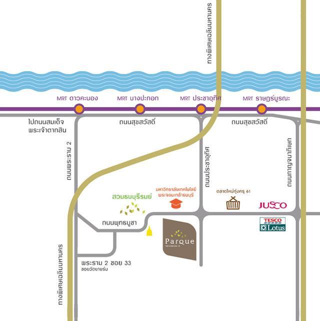Parqueพุทธบูชา_Map_Official