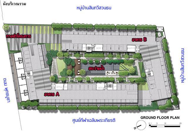 Parqueพุทธบูชา_Plan_1st_2