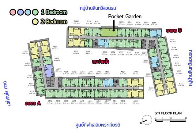Parqueพุทธบูชา_Plan_3rd_3