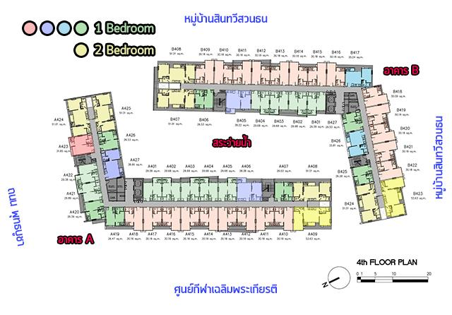 Parqueพุทธบูชา_Plan_4th_3