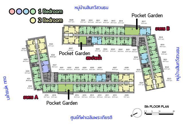 Parqueพุทธบูชา_Plan_5th_3